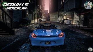 GTA 5 REDUX 1.5 - Speed / Crash / Burnout / FX / Drift - Gameplay in Intel I7 8700K + GTX 1060 6GB