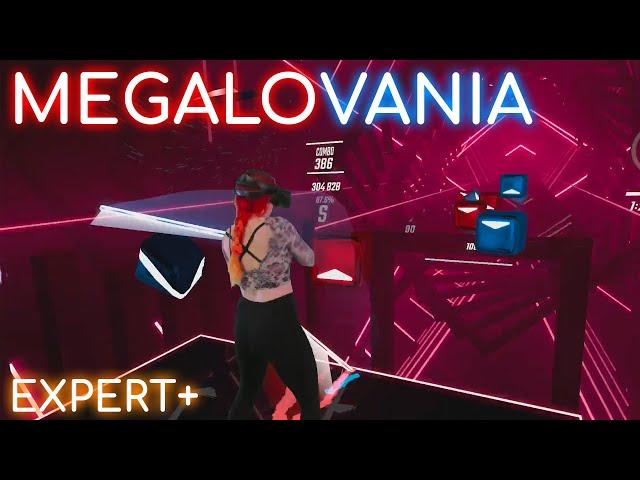 Beat Saber: Megalovania | Expert+ S Rank (Mixed Reality)