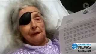Blind & partialy deaf 89 year old evicted from Sydney's Prince of Wales Hospital