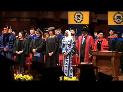 University of Michigan School of Public Health Commencement 2016
