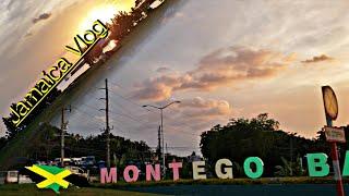Montego Bay, Jamaica Travel Vlog | Scotchies Jerk | Car Stuck On The High Way**Sad Story**