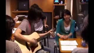 singer songer secret recording off shot from shokarinrin. cocco is ...