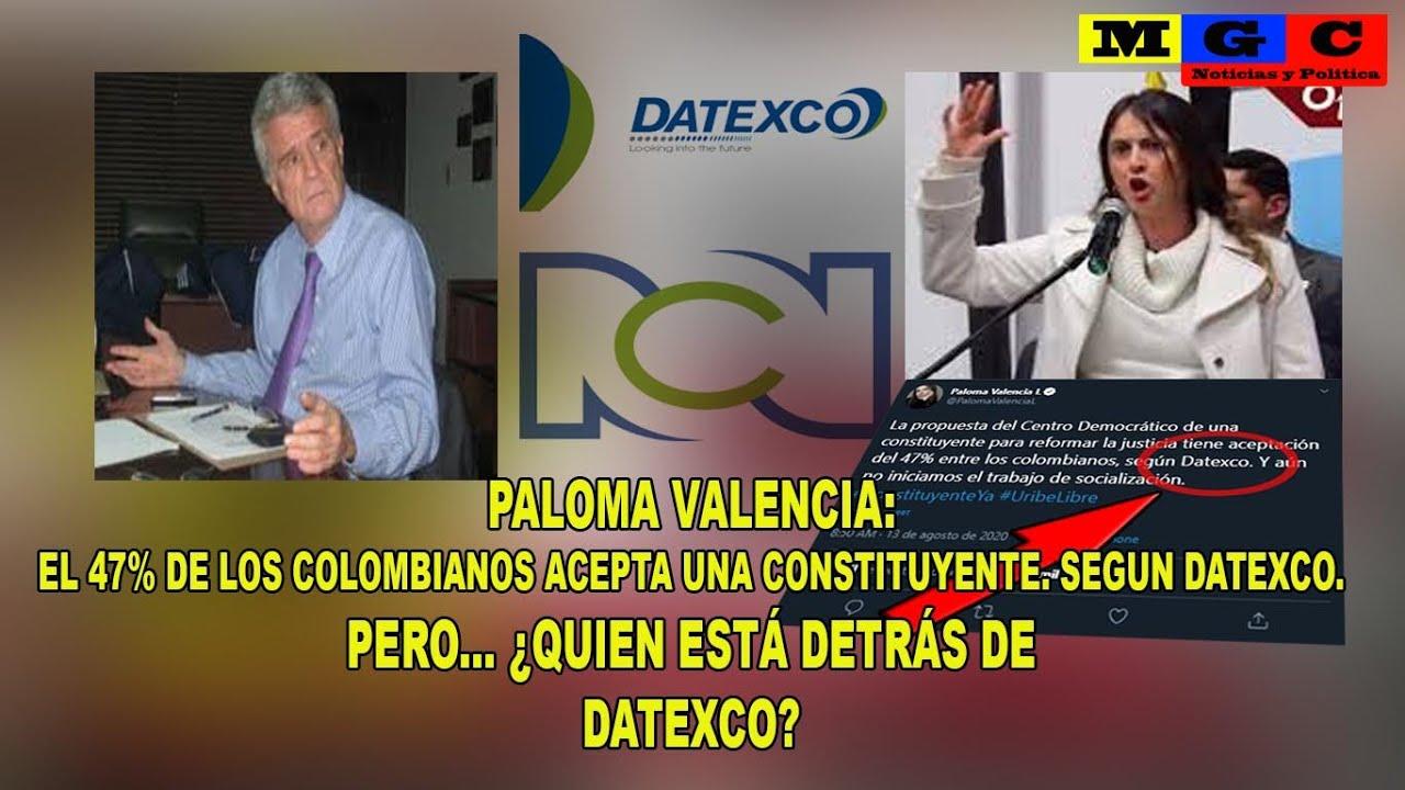 """PALOMA VALENCIA:  """"EL 47% DE LOS COLOMBIANOS ACEPTA UNA CONSTITUYENTE"""""""