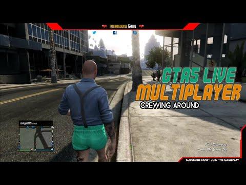 GTAV - PS3 LIVE MULTIPLAYER - Crewing Around