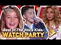 MOST VIEWED Blind Audition in EVERY COUNTRY! 🤩❤️ | The Voice Kids WATCH PARTY 🎉