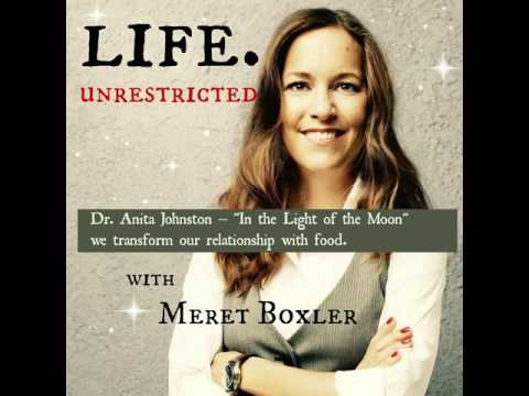 """LU 020: Dr. Anita Johnston – """"In the Light of the Moon"""" we transform our relationship with food."""