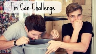 One of PointlessBlog's most viewed videos: The Tin Can Challenge