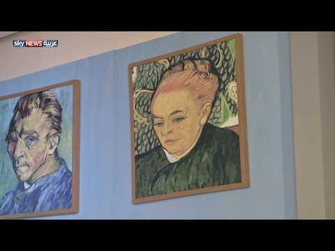 عرض رسومات الفنان فان غوخ في المسرح الوطني بأبوظبي  - 10:22-2018 / 1 / 22