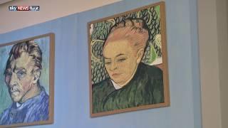 عرض رسومات الفنان فان غوخ في المسرح الوطني بأبوظبي