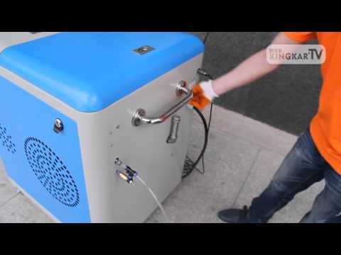 Operation Video for HHO Carbon Cleaner 6 0