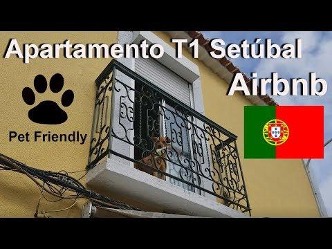 Tour T1 Apartamento em Setúbal Airbnb ACEITA ANIMAIS DE ESTIMAÇÃO/ Vamu Ver!
