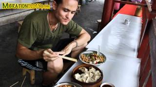 Chinese Rice Noodles: Guilin Noodles in Yangshuo, China 桂林米粉