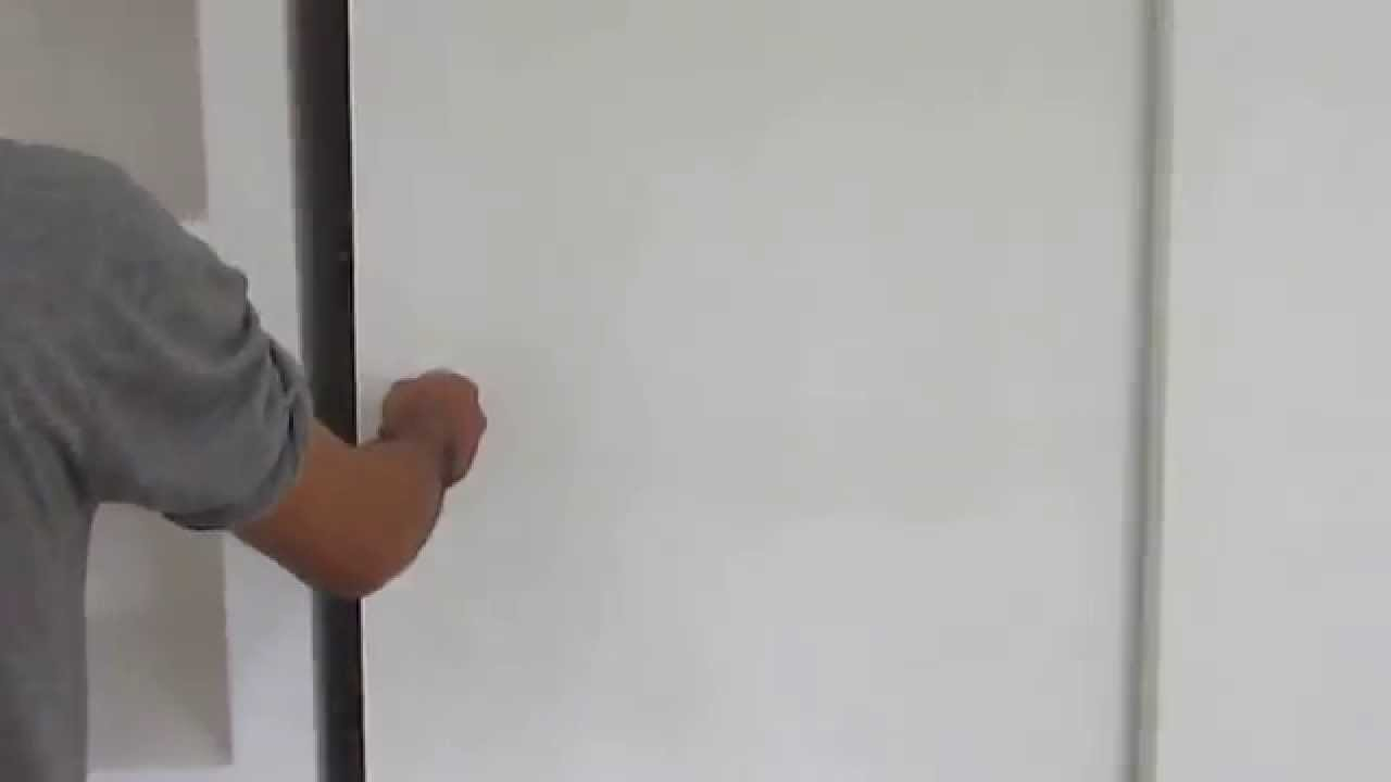 Come Costruire Un Armadio A Muro Fai Da Te.Armadio A Muro Su Misura Youtube