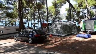 Camp site Bijar - Osor - Cres - camping Croatia