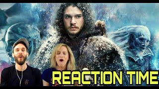 GAME OF THRONES SEASON 7 TRAILER 2 REACTION WITH MOMZ!