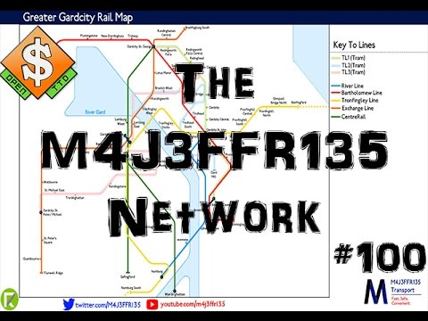 The M4J3FFR135 Network | OpenTTD | #100 | The Centurion Tour