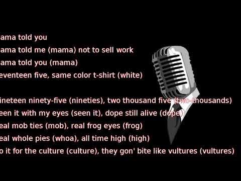 Migos - T-Shirt (lyrics)