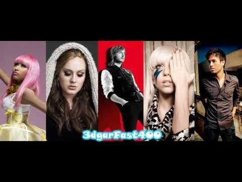 David Guetta vs  Adele, Lady Gaga, Nicki Minaj & Enrique Iglesias   Turn Me On Mashup Megamix