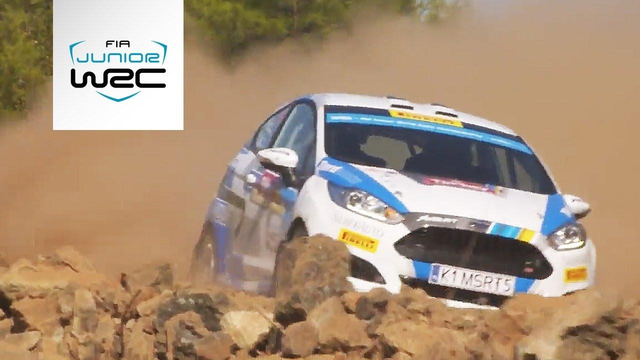 FIA Junior WRC - Rally Turkey 2018: Highlights Friday