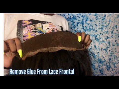 How to Remove Glue from Lace Frontal Wig