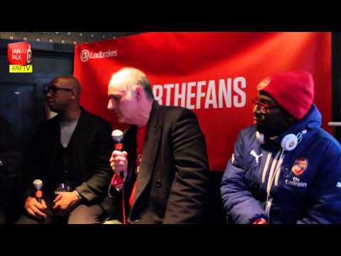 Arsenal Legend Ian Wright meets Claude and TY