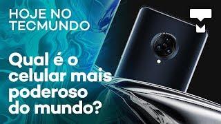 Samsung com Android 10, celular mais poderoso do mundo – Hoje no TecMundo
