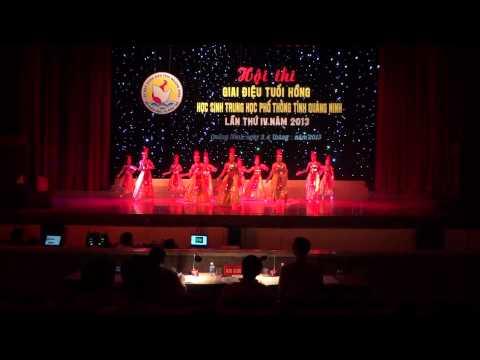 Múa Lời Ru Âu Lạc - A1 ĐSĐ THPT Minh Hà khóa 2010-2013