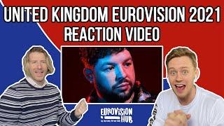 United Kingdom   Eurovision 2021 Reaction   James Newman - Embers   Eurovision Hub