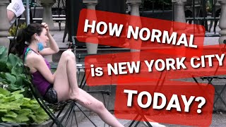 HOW 'NORMAL' IS NEW YORK CITY TODAY? [September 2020]