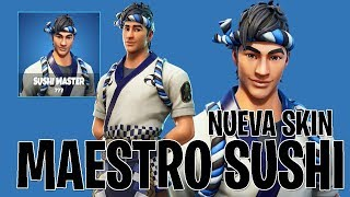 *NEW SKIN* *SUSHI MASTER* ALL YOUR FORTNITE BAILES // GESTS & NEW BAILES (FILTRATED)