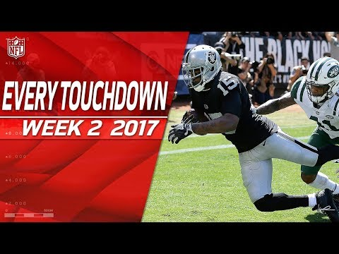 Every Touchdown from Week 2 | 2017 NFL Highlights