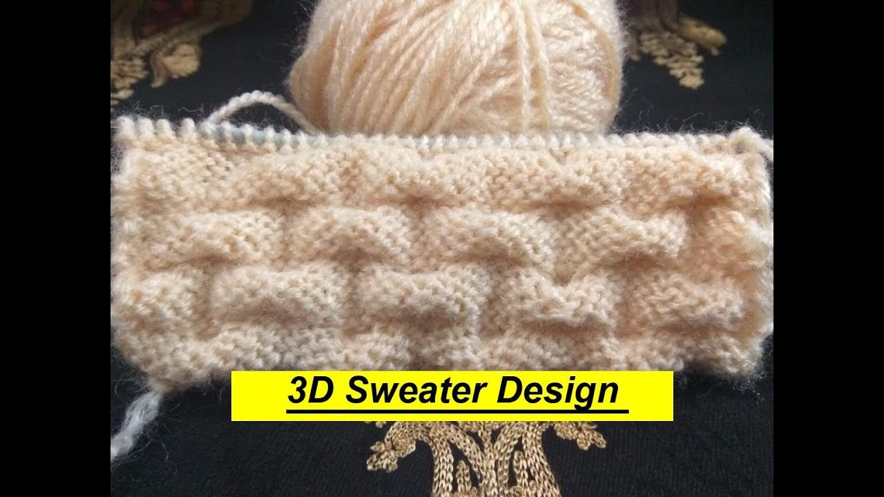 b778464f0  Lattest Sweater Knitting Designs 3D Sweater Design knitting sweater designs  for ladies Gents Kids