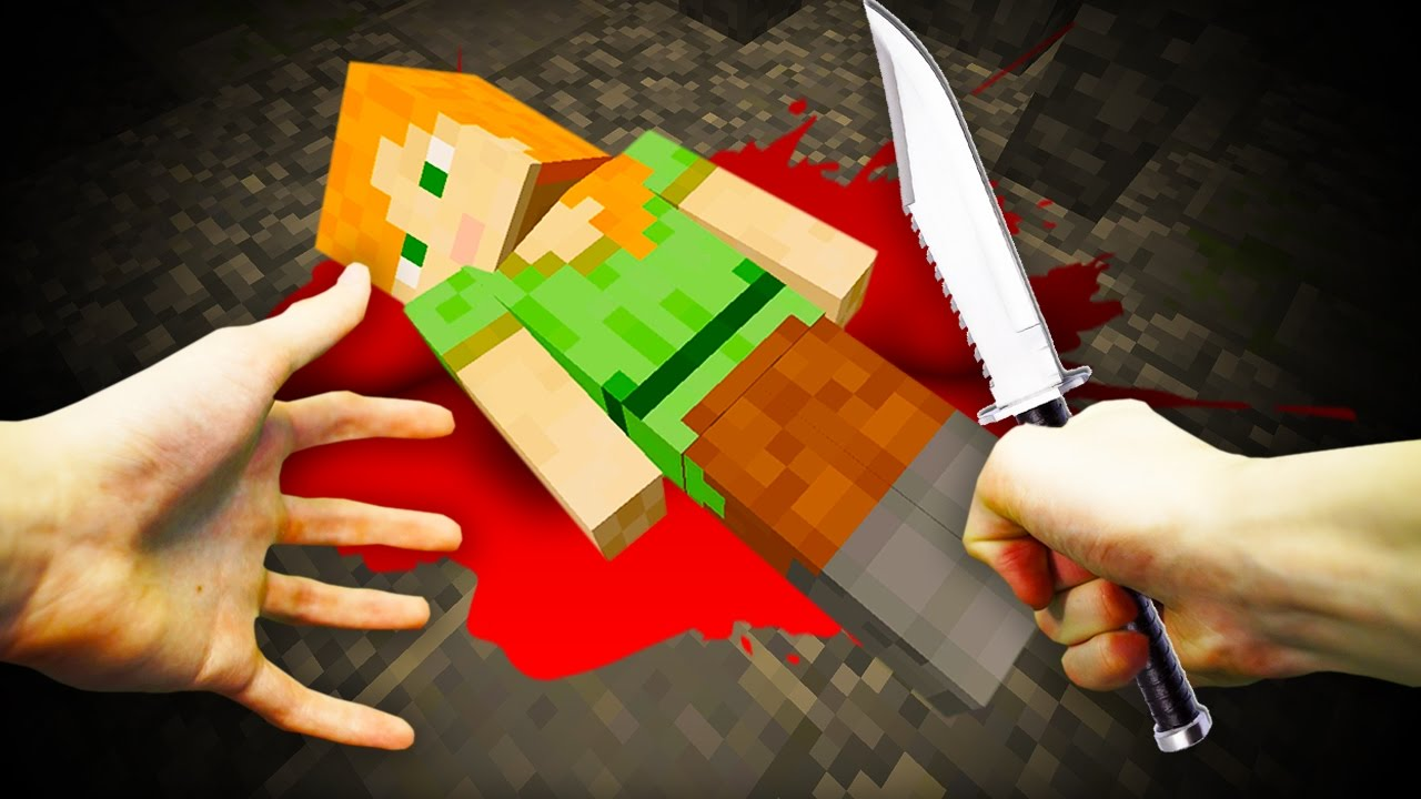 Realistic Minecraft Why Steve Kills Alex Youtube