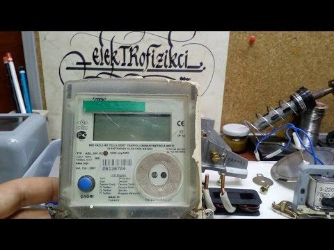 Tek Faz Elektronik Sayaç _ Bugün Ne Sökelim? -71-