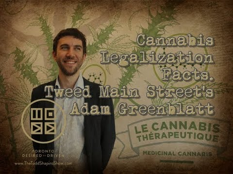 Cannabis Legalization Facts. Tweed Main Street's Adam Greenblatt