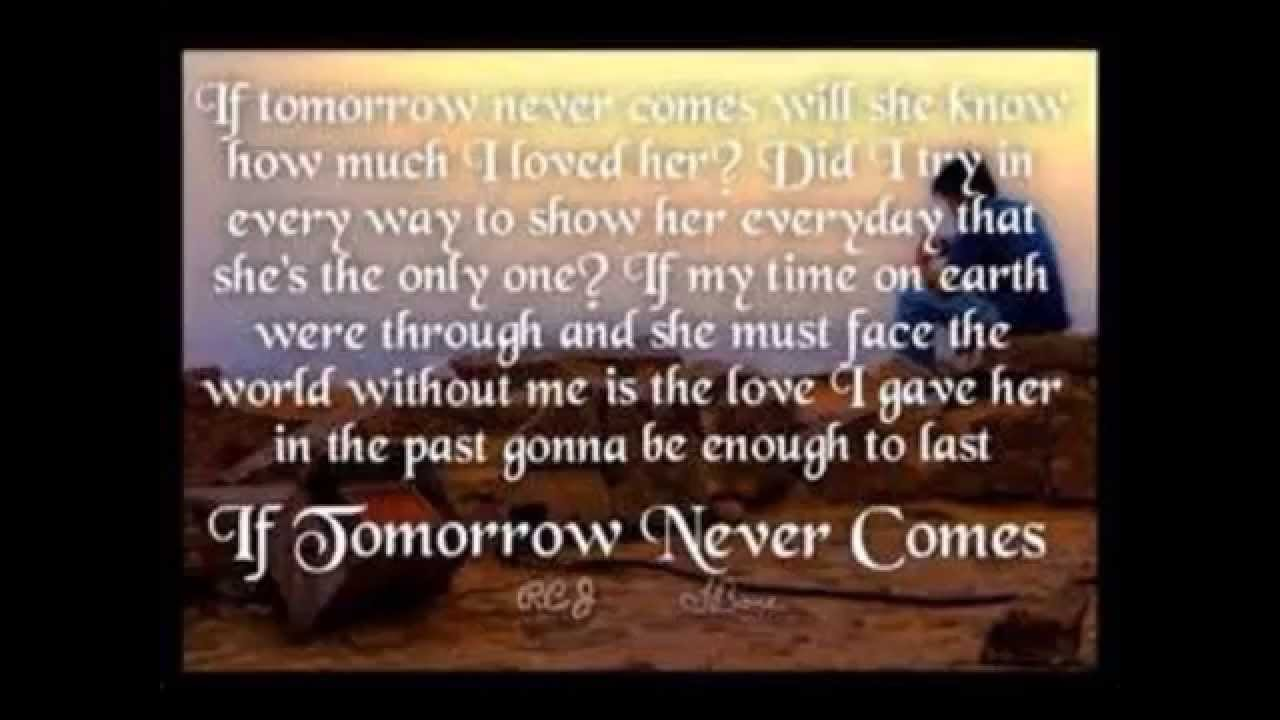 If Tomorrow Never Comes Garth Brooks Cover By Steven Lavery Youtube