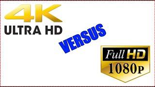 4k UHD VS 1080p PC GAMING