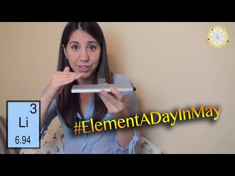 #19 - How a Lithium Ion Battery Works - #ElementADayInMay