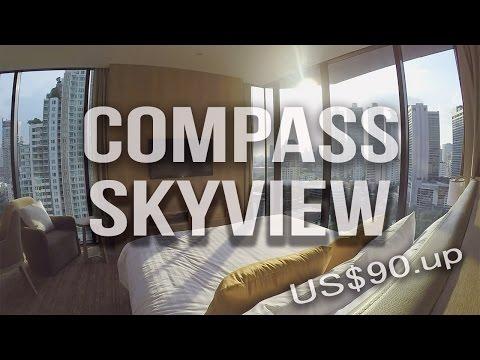 Compass SkyView Hotel Bangkok 🌴☀️ | 2016 Hotel Bangkok Thailand | BTS Phrom Phong Station | 泰國曼谷酒店