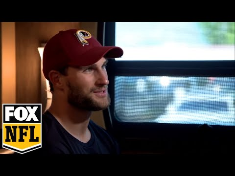 Jay Glazer 1-on1 with Redskins QB Kirk Cousins before 2017-18 NFL Season | FOX NFL
