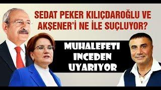 SEDAT PEKER MUHALEFETİ UYARIYOR ; 'SIRA SİZE GELİYOR' !!!