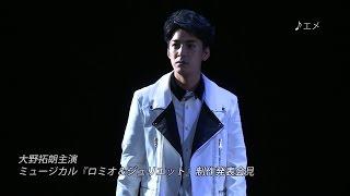 赤坂 BLITZ にてミュージカル『ロミオ&ジュリエット』のミニライブ付き...
