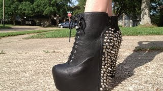 Jeffrey Campbell Spiked Damsels (& New Tattoo!)