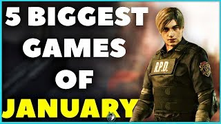 The 5 Biggest Games Coming Out In January 2019 | Ps4, Xbox One & Pc