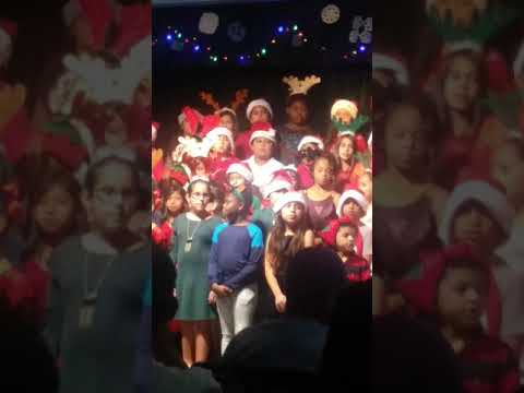 Celebrating Christmas in Golden Gate Elementary School