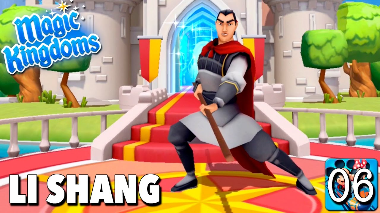 Bienvenido Li Shang Juego Disney Magic Kingdoms Gameplay Youtube