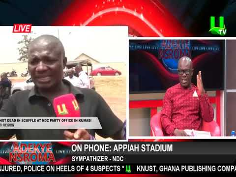 Appiah Stadium gives full account of party office incidence