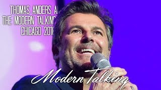 Thomas Anders & Modern Talking Band Chicago 2018 - Full Concert