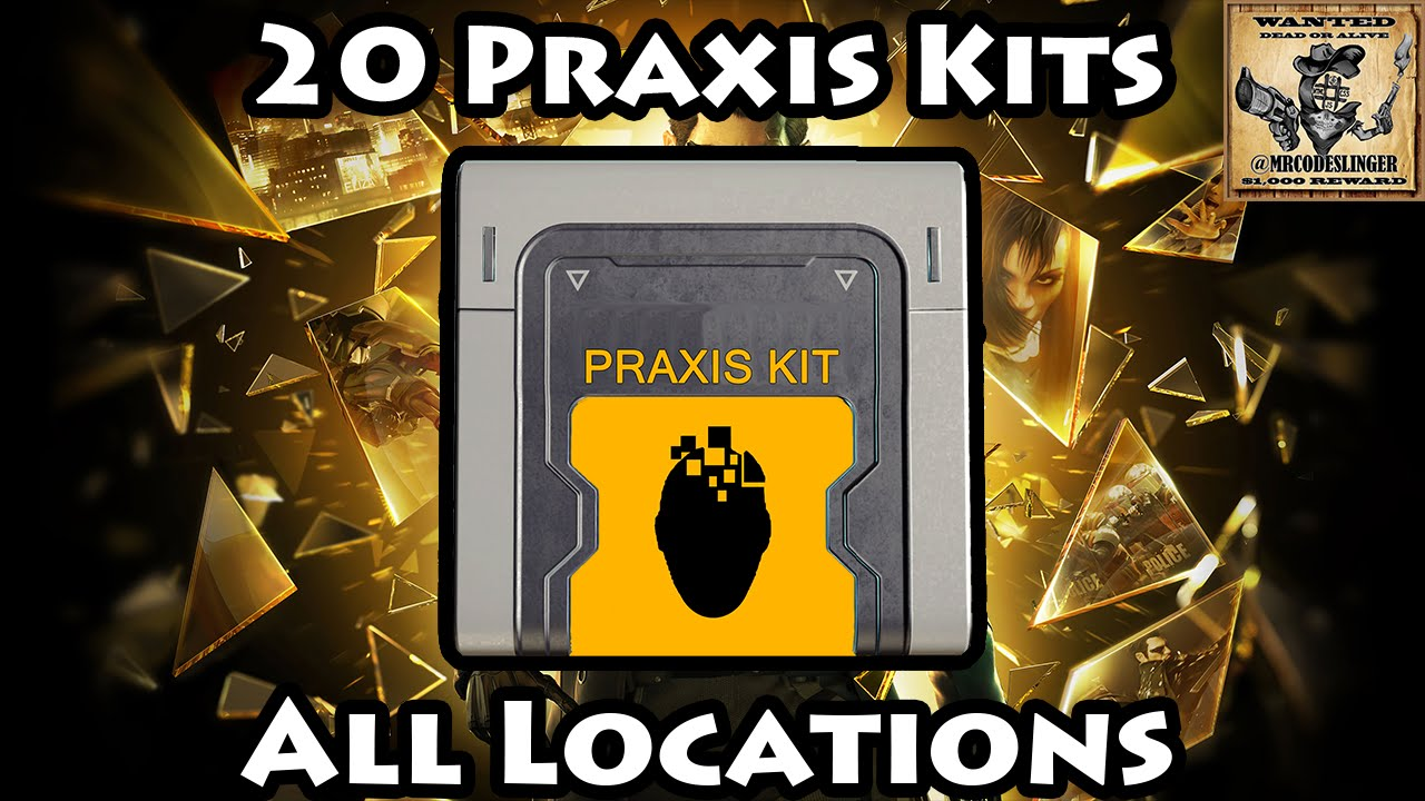 Zwarte Kit Praxis Deus Ex Mankind Divided - All Praxis Kit Locations - Youtube