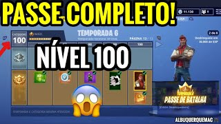 FORTNITE-BUYING ALL THE BATTLE PASS (ALL CATEGORIES) OF SEASON 6 (en anglais seulement) BATAILLE ROYALE